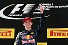 Topnews 2016 - #6: Max Verstappen siegt beim 1. Einsatz für Red Bull Racing