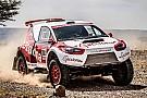 Así es el coche eléctrico que va por el Dakar
