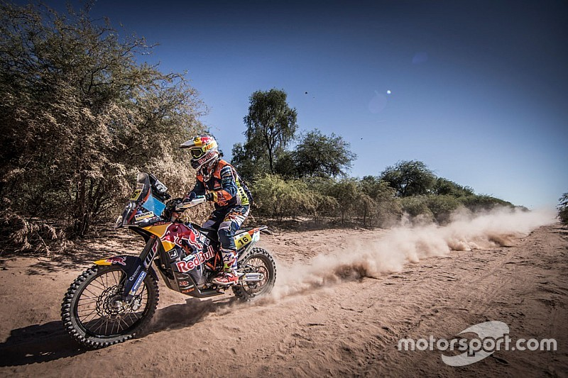 Étape 4, motos - Price chute, Walkner s'impose