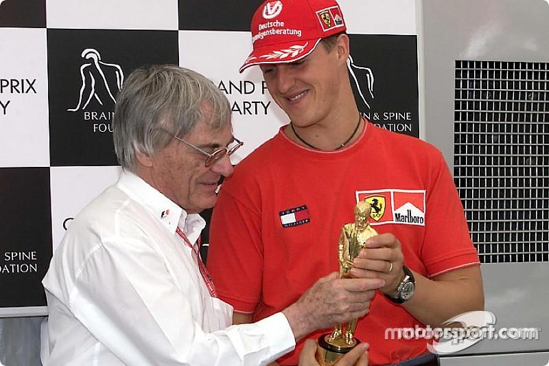 """Ecclestone: """"Sería bueno para la F1 tener otro Schumacher"""""""