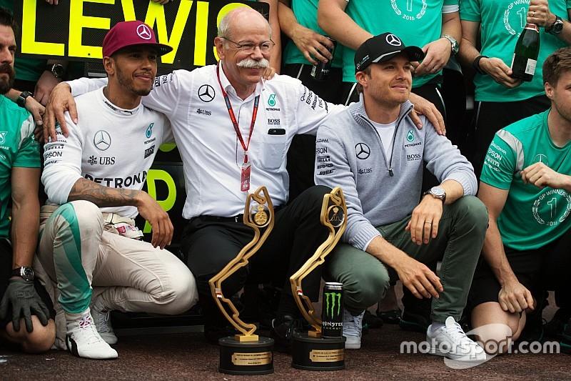 """Mercedes - """"Ça aurait été plus facile d'avoir deux champions du monde"""""""
