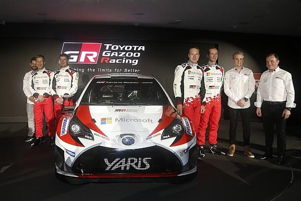Toyotas Ziel bei der Rallye Monte Carlo: