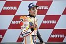 Маркес прокатился на мотоцикле MotoGP по горнолыжной трассе