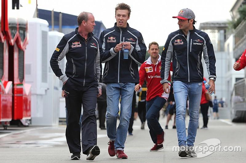 """Sainz: """"La gente olvida que Kvyat ganó a Ricciardo en 2015"""""""