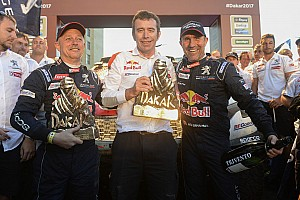 Dakar 速報ニュース 【ダカール】プジョー新型3008DKRで1-3位独占の歴史的完勝