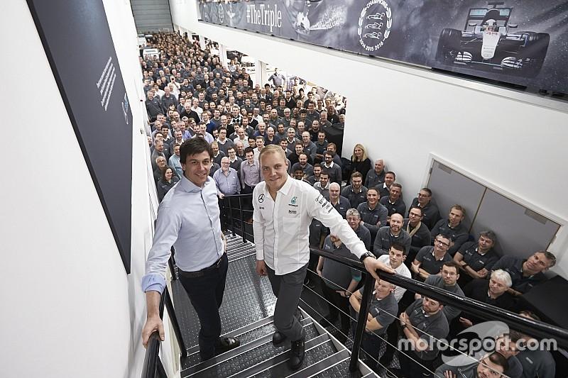 """Mercedes - Bottas en 2017, des """"options ouvertes"""" pour 2018"""