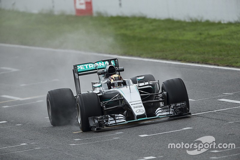 Pirelli tendrá más pruebas sobre mojado