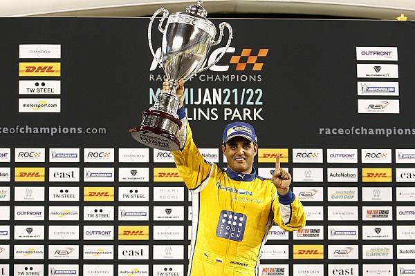 Juan Pablo Montoya remporte la ROC pour ses débuts!