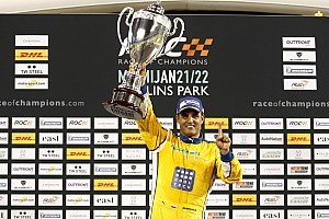 General Résumé de course Juan Pablo Montoya remporte la ROC pour ses débuts!