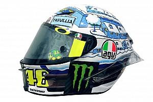 MotoGP Top List Galería: el casco de Rossi en los test de pretemporada