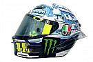 Galería: el casco de Rossi en los test de pretemporada
