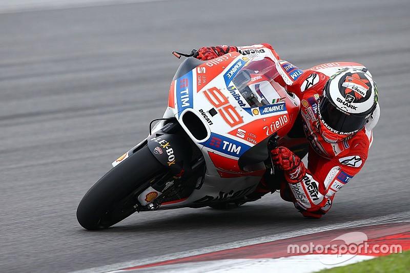 Lorenzo pilih Pirro sebagai analis trek di Ducati