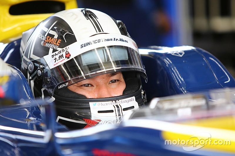 Kobayashi start opnieuw in Super Formula