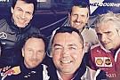 Las selfies solidarias de la Fórmula 1