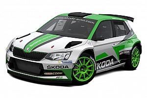 WRC Ultime notizie Skoda svela la livrea definitiva che userà nel Mondiale WRC2 2017