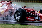 Ferrari suspende las pruebas del viernes con Pirelli