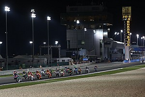 MotoGP Ultime notizie La pioggia non fermerà più il GP del Qatar di MotoGP