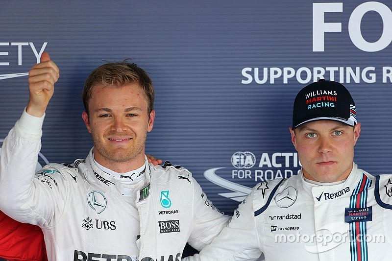 Rosberg diz que não vai contar segredos de Hamilton a Bottas