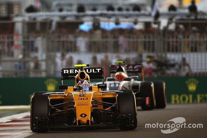 В Renault поставили цель обогнать Williams, Force India и Toro Rosso