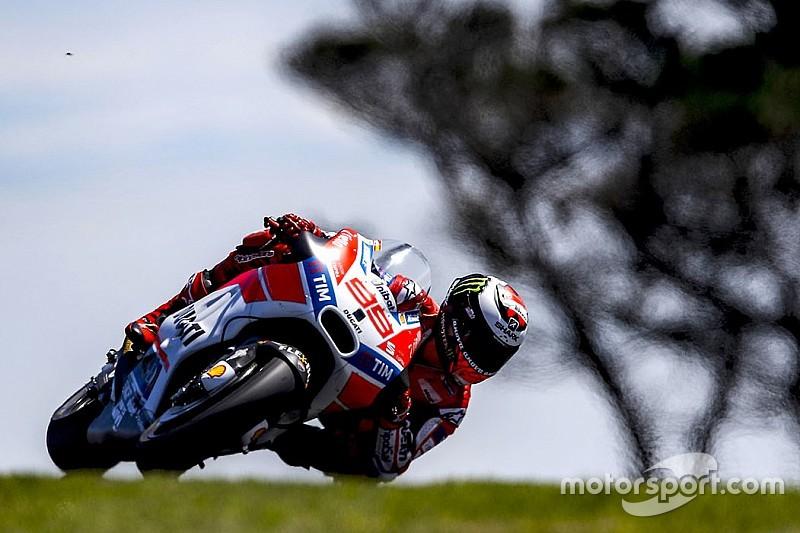 """MotoGP: Ducati-Pilot Jorge Lorenzo beklagt """"gefährlichen"""" Hinterreifen"""