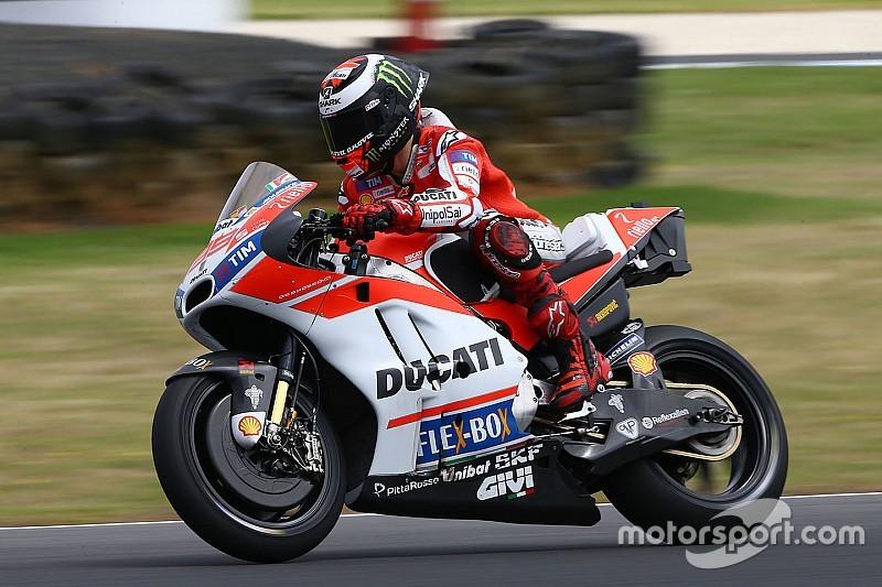 """Lorenzo: """"algo ainda não está certo"""" em mudança para Ducati"""