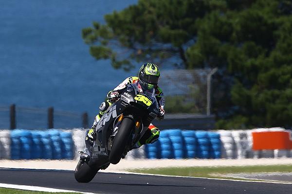 MotoGP Réactions Des essais positifs pour Crutchlow malgré des problèmes de pneus avant