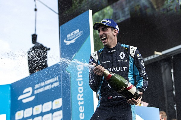 Formel E Rennbericht Formel E in Buenos Aires: 3. Saisonsieg für dominanten Sebastien Buemi