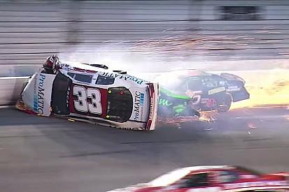 Fontaine si frattura una vertebra in un violento incidente a Daytona