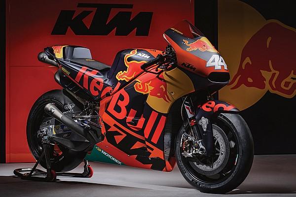MotoGP Самое интересное «Красные быки» на двух колесах: презентация KTM RC16