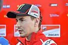 "Lorenzo: ""Rossi volvió a Yamaha con la cabeza baja"""