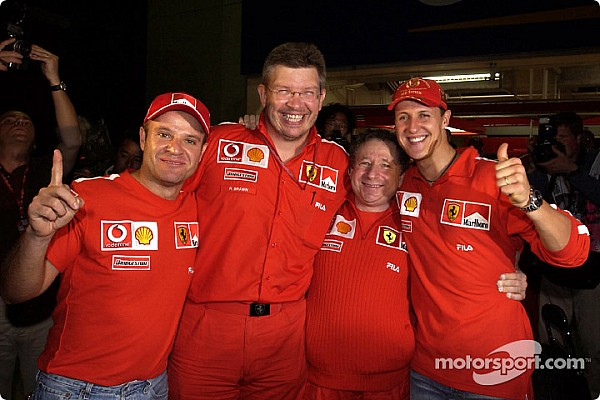 Todos los pilotos que han ganado con Ferrari