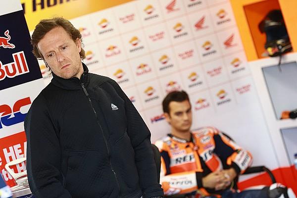 Sete Gibernau a piloté la Honda pendant le test de Jerez