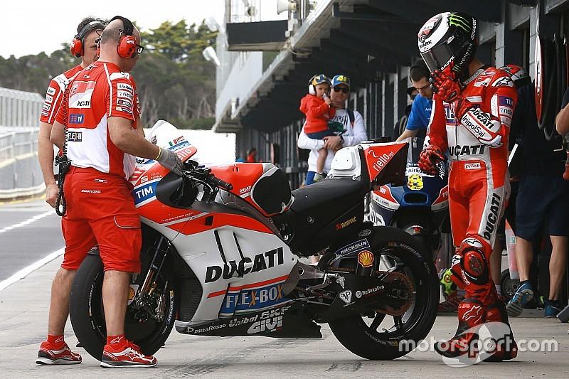 Ducati привезла новые винглеты на тесты в Катаре