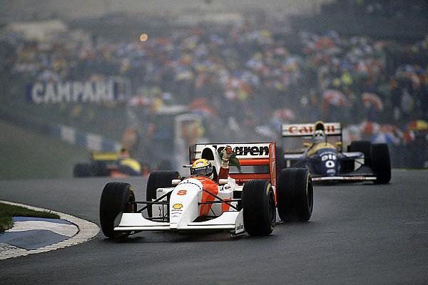 Forma-1 Ezen a napon: Ayrton Senna varázslatos első köre a doningtoni esőben