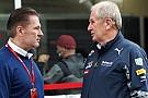 Ферстаппен долучився до роботи з молодими гонщиками Red Bull