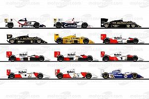 Formula 1 Top List GALERI: Mobil Ayrton Senna di Formula 1