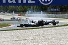 Відео: зіткнення Хемілтона і Росберга на Гран Прі Іспанії 2016 року