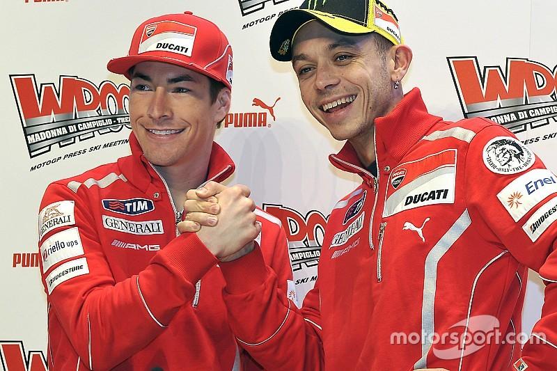 """Valentino: """"No tengo palabras, siento un gran vacío. Adiós Nicky"""""""