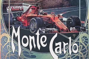 Формула 1 Самое интересное Ferrari подготовила ретро-постер к Гран При Монако