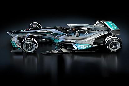 Bildergalerie: Formel-1-Designstudie für 2030 mit modernen Lackierungen