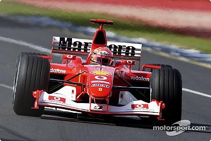 F1's greatest cars: Ferrari F2002