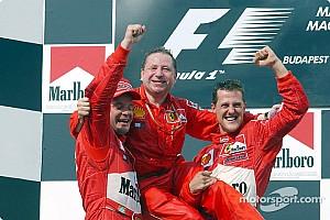 Formel 1 Feature Vor 16 Jahren: Michael Schumacher holt 4. WM-Titel in der Formel 1