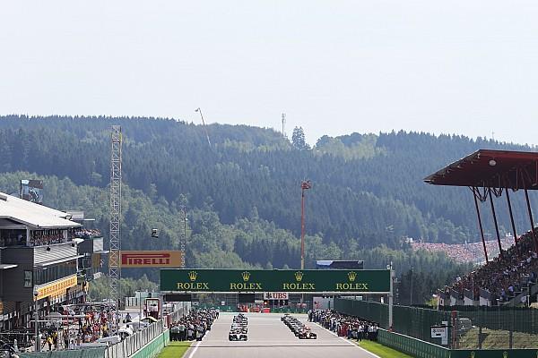 Le programme TV du Grand Prix de Belgique