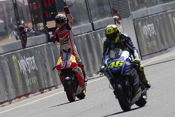 MotoGP Галерея: Россі проти Маркеса - по 33 перемоги у Honda