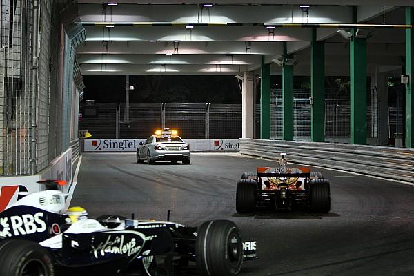 Todos los ganadores del GP de Singapur de F1