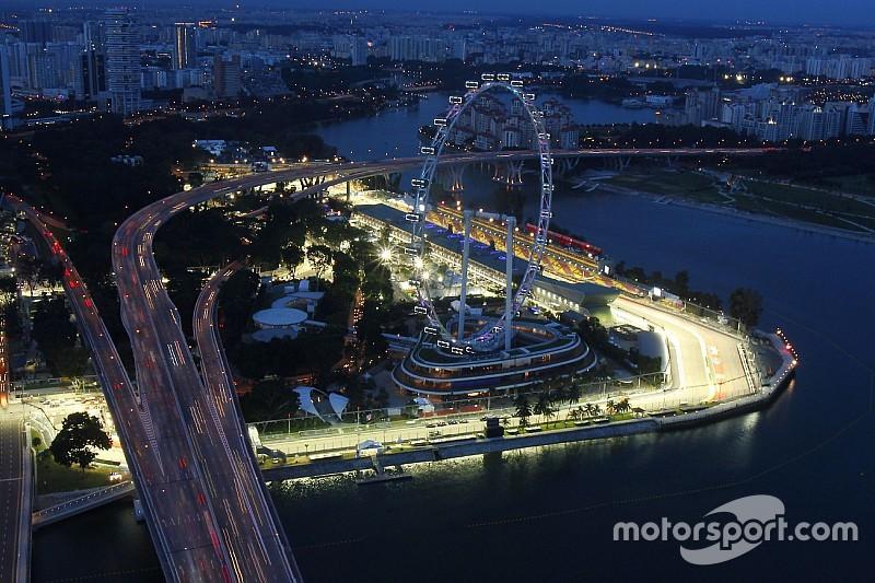 Carey: GP de Cingapura tem grande futuro na Fórmula 1