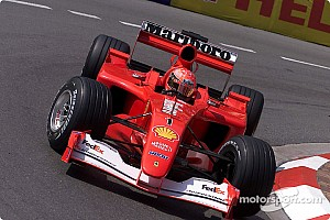 Fórmula 1 Noticias Sale a subasta el Ferrari F2001 de Schumacher