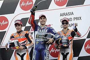 MotoGP Noticias de última hora El póker español en Aragón tiene un precedente en Japón 2013