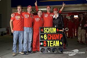 Формула 1 Ностальгія Галерея: як Шумахер та Райкконен вирішували долю титулу в Японії-2003