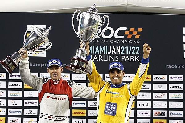 Montoya, Kristensen e Norris tra i piloti della Race of Champions 2018